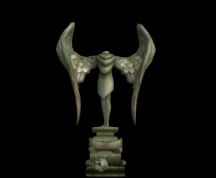Wildstar Housing - Stonewing Crypt Statue