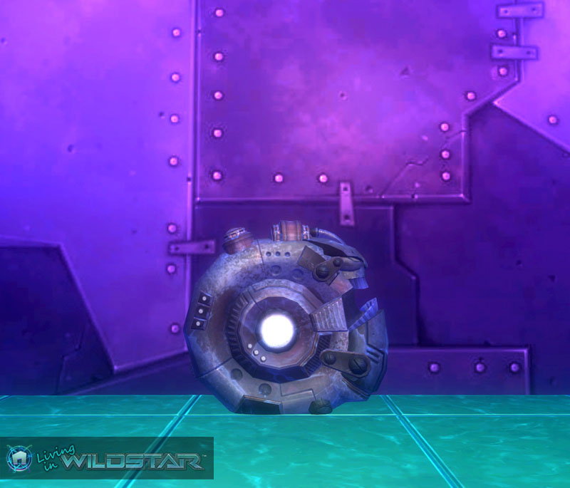 Wildstar Housing - Frostforged Head