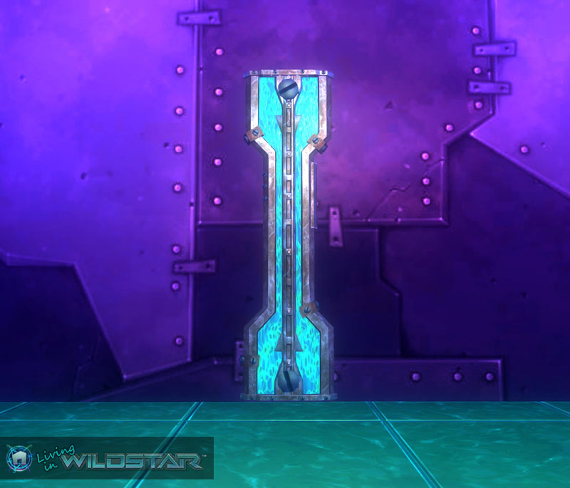 Wildstar Housing - Soulfrost Conduit (Straight)