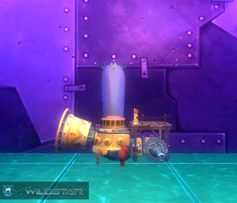Wildstar Housing - Vind Harvester