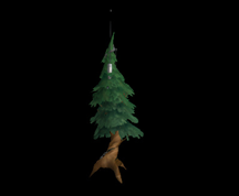 Wildstar Housing - Augmented Pine Tree