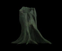 Wildstar Housing - Hollow Horror Stump