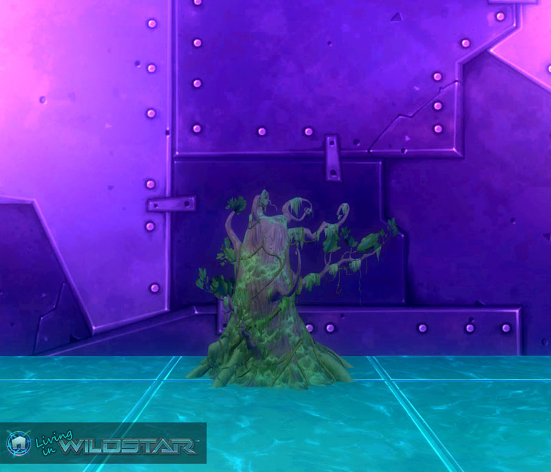 Wildstar Housing - Mossy Overgrowth