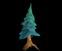 Wildstar Housing - Pine Tree (Wide)