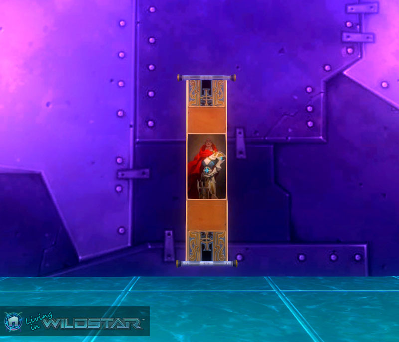 Wildstar Housing - Wall Scroll (Dominion)